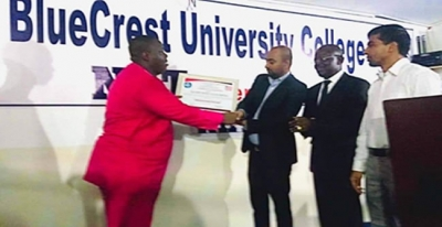 Crest University College Bags Top CSO Award - Offers Studies in Fashion Designs in Liberia