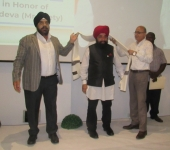 Outgoing Honorary Consul of India to Liberia Honored