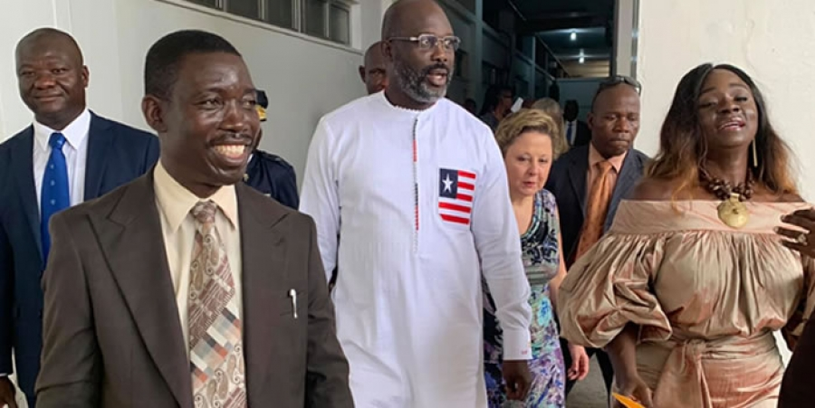 President Weah Impressed With JFK New Facilities - Vows To Seek Treatment Here
