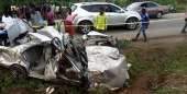 Woman, 2 Children Killed In Motor Accident
