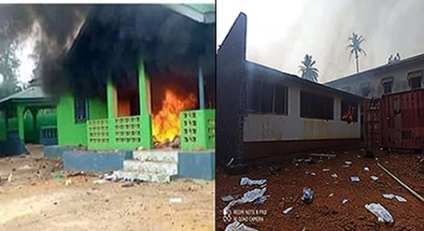-Speaker's Residence, Prison Compound Set Ablaze