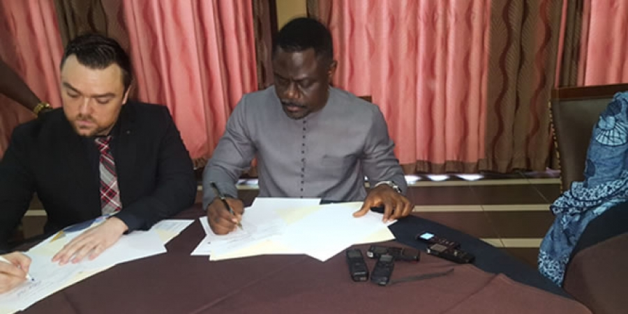 LWSC Signs MOU With American Companies To Supply Safe Drinking Water