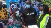 UNICEF Donates Sanitary Materials to GoL Worth US$100,000