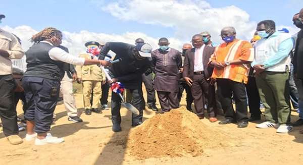 In Pawpaw Village, Nimba County -President Weah Breaks Ground for 100 Pro- Poor Housing Units